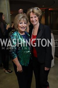Annie Totah, Kathleen Kennedy Townsend. Photo by Tony Powell. 2019 PEN/Faulkner Gala. Katzen Center. October 26, 2019