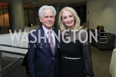Donald and Rhona Friedman. Photo by Tony Powell. 2019 PEN/Faulkner Gala. Katzen Center. October 26, 2019