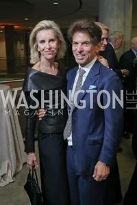 Mary and Robert Haft. Photo by Tony Powell. 2019 PEN/Faulkner Gala. Katzen Center. October 26, 2019