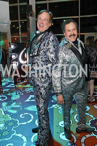 Tom Noll and Jose Alberto Ucles. Photo by Tony Powell. 2019 WHCD Qatar and Washington Diplomat Pre-Party. Institute of Peace. April 26, 2019