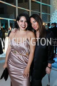 Ashley Arias, Tara Engel. Photo by Tony Powell. 2019 WHCD Qatar and Washington Diplomat Pre-Party. Institute of Peace. April 26, 2019