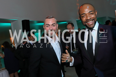 Wayne Fortune, Brandon Clay. Photo by Tony Powell. 2019 WHCD Qatar and Washington Diplomat Pre-Party. Institute of Peace. April 26, 2019