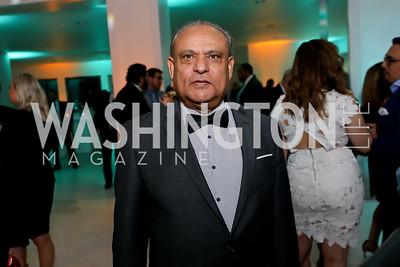 Mauritius Amb. Soorooj Phokeer. Photo by Tony Powell. 2019 WHCD Qatar and Washington Diplomat Pre-Party. Institute of Peace. April 26, 2019