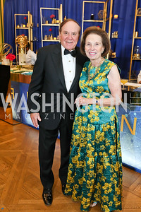 Peter and Ellen Boer. Photo by Tony Powell. Sibley Memorial Hospital 18th Hope & Progress Gala. Mellon Auditorium. March 9, 2019