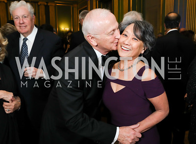 Bob and Janet Sloan. Photo by Tony Powell. Sibley Memorial Hospital 18th Hope & Progress Gala. Mellon Auditorium. March 9, 2019