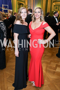 Ingrid Epperly, Elisabeth Tamasi. Photo by Tony Powell. Sibley Memorial Hospital 18th Hope & Progress Gala. Mellon Auditorium. March 9, 2019