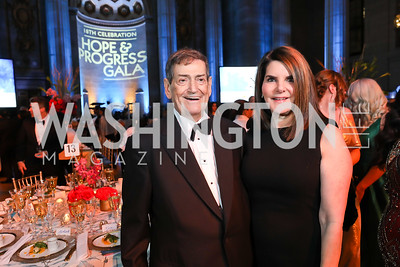 Ken and Jackie Duberstein. Photo by Tony Powell. Sibley Memorial Hospital 18th Hope & Progress Gala. Mellon Auditorium. March 9, 2019