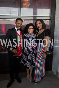 Alex Hill Stacey Sampson Ashley Johnson Photo by Naku Mayo Step Afrika 25th Anniversary Gala June 6, 2019