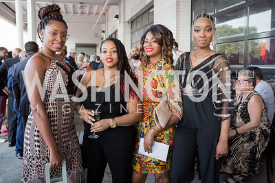 Tai Edwards Adine Hemehill Natavia Vineyard Charde Russell Photo by Naku Mayo Step Afrika 25th Anniversary Gala June 6, 2019
