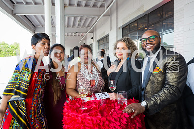 Mindy Johnson June Kao Dilcia St Hill Jennifer Hopson Dr. Nii-Quartelai Quartey Photo by Naku Mayo Step Afrika 25th Anniversary Gala June 6, 2019