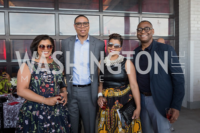 Tiffany Rose Dr. Lewis Ferebee Tina and Eric Easter Photo by Naku Mayo Step Afrika 25th Anniversary Gala June 6, 2019