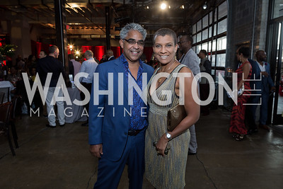 Moe Jordan Dr Nicole Cutts Photo by Naku Mayo Step Afrika 25th Anniversary Gala June 6, 2019
