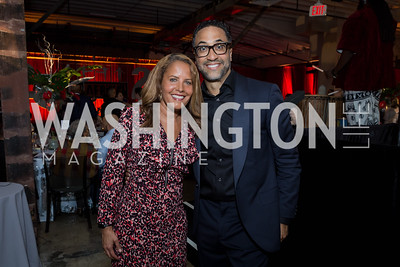 Suzanne Malveaux  C. Brian Williams Photo by Naku Mayo Step Afrika 25th Anniversary Gala June 6, 2019