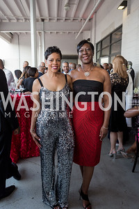 Carol Motley Angela Wiggins Photo by Naku Mayo Step Afrika 25th Anniversary Gala June 6, 2019
