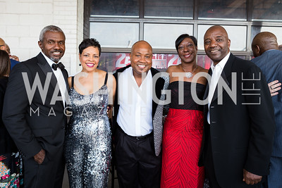 Jonathan Harris Carol Motley Damond Campbell Angela Wiggins Scott Folks Photo by Naku Mayo Step Afrika 25th Anniversary Gala June 6, 2019
