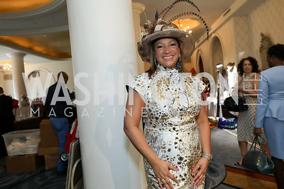 "Dianna Campbell. Photo by Tony Powell. The Links 2019 ""High Tea in the City."" Omni Shoreham. March 30, 2019"