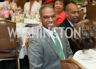 "Councilmember Brandon Todd. Photo by Tony Powell. The Links 2019 ""High Tea in the City."" Omni Shoreham. March 30, 2019"