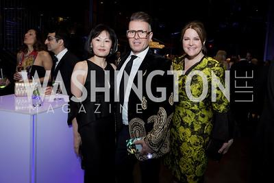 Janice Kim Paul Sherrill Rachel Pearson Photo by Naku Mayo Washington Ballet  Gala May 10, 2019