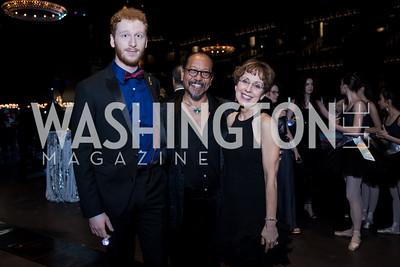JP Wogaman II, Glenn Sales, Toni Stifano Photo by Naku Mayo Washington Ballet  Gala May 10, 2019