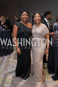 TMCF EVP Andrea Horton, Program Director Dana Brown. Photo by Tony Powell. 2019 Thurgood Marshall 32nd Anniversary Awards Gala. October 19, 2019