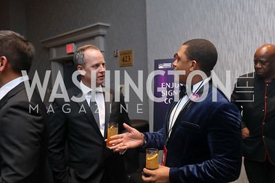 Jason Schugel, Martin Martin. Photo by Tony Powell. 2019 Thurgood Marshall 32nd Anniversary Awards Gala. October 19, 2019