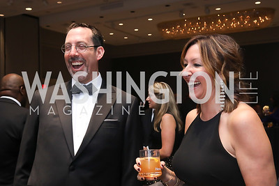 Scott Stengel, Kathie Patterson. Photo by Tony Powell. 2019 Thurgood Marshall 32nd Anniversary Awards Gala. October 19, 2019
