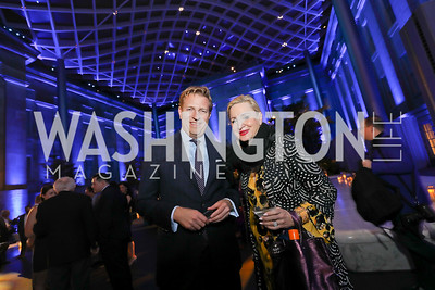 Mark Vlasic, Chris Warnke. Photo by Tony Powell. 2019 WHCD The Hill's A Toast to Freedom of the Press. NPG. April 26, 2019