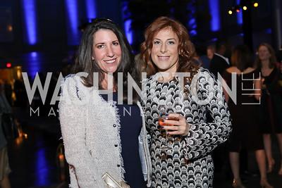 Barbara Martin, Jayne Sandman. Photo by Tony Powell. 2019 WHCD The Hill's A Toast to Freedom of the Press. NPG. April 26, 2019