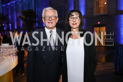 Switzerland Amb. Martin Dahinden and Anita Dahinden. Photo by Tony Powell. 2019 WHCD The Hill's A Toast to Freedom of the Press. NPG. April 26, 2019