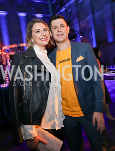 Emily Tisch Sussman, Chase Cormier Maggiano. Photo by Tony Powell. 2019 WHCD The Hill's A Toast to Freedom of the Press. NPG. April 26, 2019