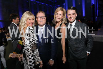 Maggie O'Neill, Timothy Lowery, Michelle Gloden Schoenfeld, Michael Zingali. Photo by Tony Powell. 2019 WHCD The Hill's A Toast to Freedom of the Press. NPG. April 26, 2019
