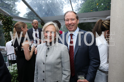 Jill Udall and Sen. Tom Udall. Photo by Tony Powell. 2019 WHCD Bradley Welcome Dinner. April 26, 2019