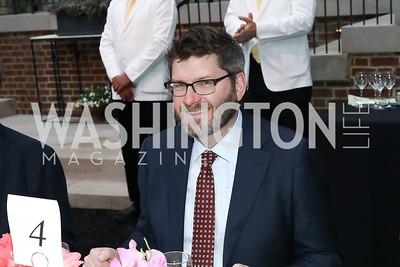 WHCA President Olivier Knox. Photo by Tony Powell. 2019 WHCD Bradley Welcome Dinner. April 26, 2019