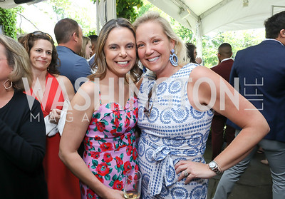 Robin Bash, Mary Alberg. Photo by Tony Powell. 2019 WHCD Garden Brunch. April 27, 2019