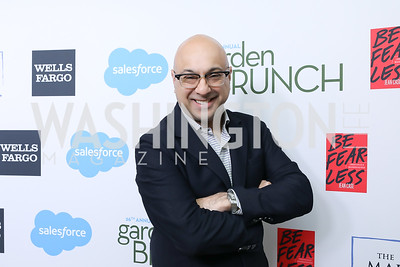 Ali Velshi. Photo by Tony Powell. 2019 WHCD Garden Brunch. April 27, 2019