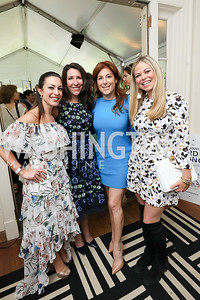 Anastasia Dellaccio, Barbara Martin, Jayne Sandman, Katy McKegney. Photo by Tony Powell. 2019 WHCD Garden Brunch. April 27, 2019