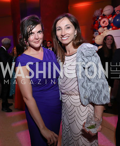 Sena Fitzmaurice, Anita Sharma. Photo by Tony Powell. 2019 WHCD NBC News & MSNBC After Party. Embassy of Italy. April 27, 2019