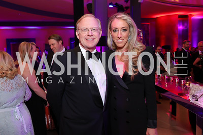 George and Kristen Lund. Photo by Tony Powell. 2019 WHCD NBC News & MSNBC After Party. Embassy of Italy. April 27, 2019