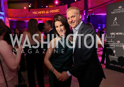 Tracy and Adam Bernstein. Photo by Tony Powell. 2019 WHCD NBC News & MSNBC After Party. Embassy of Italy. April 27, 2019