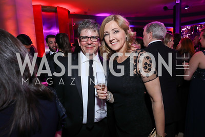 Federico Quadrani, Chris Jansing. Photo by Tony Powell. 2019 WHCD NBC News & MSNBC After Party. Embassy of Italy. April 27, 2019
