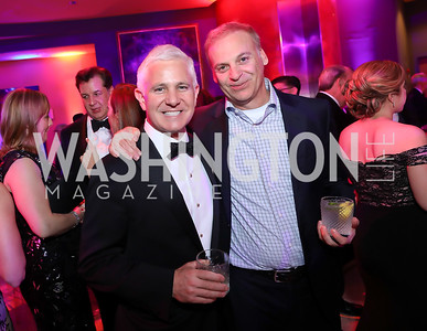 Patrick Steel, Adam Bernstein. Photo by Tony Powell. 2019 WHCD NBC News & MSNBC After Party. Embassy of Italy. April 27, 2019