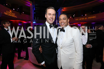 Tim Malone and Don Lemon. Photo by Tony Powell. 2019 WHCD NBC News & MSNBC After Party. Embassy of Italy. April 27, 2019