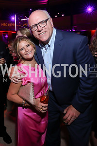 Melissa Maxfield, Rep. Joe Crowley. Photo by Tony Powell. 2019 WHCD NBC News & MSNBC After Party. Embassy of Italy. April 27, 2019