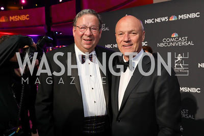 David Cohen, Phil Griffin. Photo by Tony Powell. 2019 WHCD NBC News & MSNBC After Party. Embassy of Italy. April 27, 2019