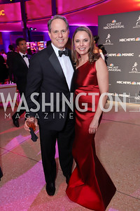 Jeremy and Robin Bash. Photo by Tony Powell. 2019 WHCD NBC News & MSNBC After Party. Embassy of Italy. April 27, 2019