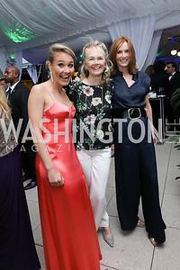 Kylie Atwood, Jennifer Isham, Lisa Shields. Photo by Tony Powell. 2019 WHCD Pre-parties. Washington Hilton. April 27, 2019