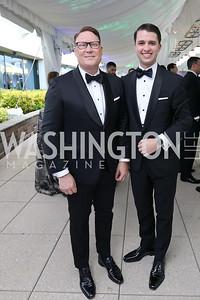 Timothy Lowery, Michael Zingali. Photo by Tony Powell. 2019 WHCD Pre-parties. Washington Hilton. April 27, 2019