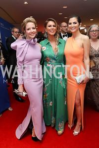Michelle Kosinski, Kate Bennett, Kaitlan Collins. Photo by Tony Powell. 2019 WHCD Pre-parties. Washington Hilton. April 27, 2019