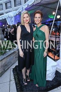 Kate Bolduan, Stephanie Ruhle. Photo by Tony Powell. 2019 WHCD Pre-parties. Washington Hilton. April 27, 2019