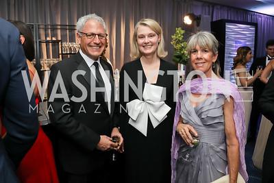 Gary Knell, Genny Ryan, Kim Larson. Photo by Tony Powell. 2019 WHCD Pre-parties. Washington Hilton. April 27, 2019